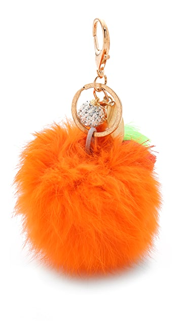 Lenora Dame Puff Bag Charm