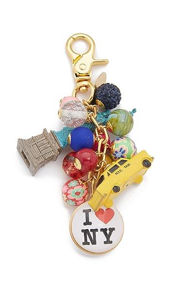 Lenora Dame New York Bag Charm