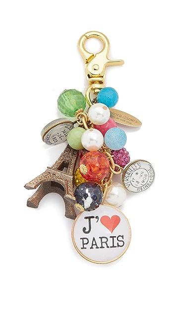 Lenora Dame Paris Bag Charm