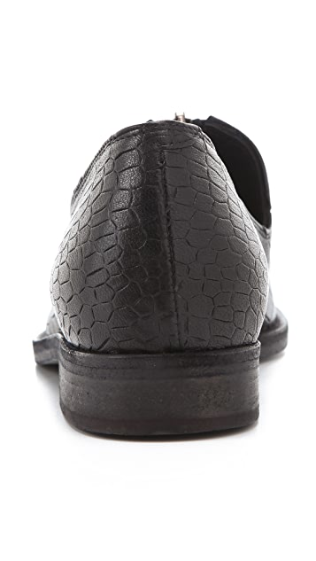 LD Tuttle The Chrome Front Zip Loafers