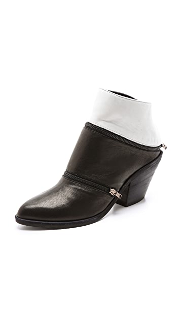 LD Tuttle The Return Zipper Mule Booties