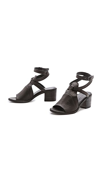 LD Tuttle The Paint Ankle Strap Sandals