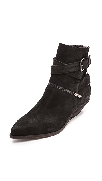 LD Tuttle The Suede Space Cowboy Booties