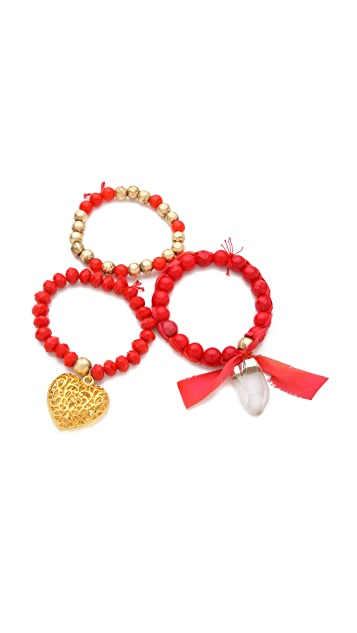 Lead Love Bracelet Set