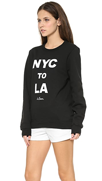 Le Beau NYC to LA Sweatshirt