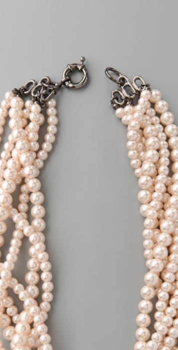 Lee Angel Jewelry Martine Pearl Necklace