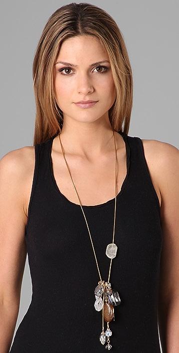 Lee Angel Jewelry Dakota Natural Fringe Necklace