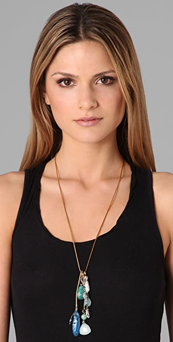 Lee Angel Jewelry Dakota Multi Stone Necklace