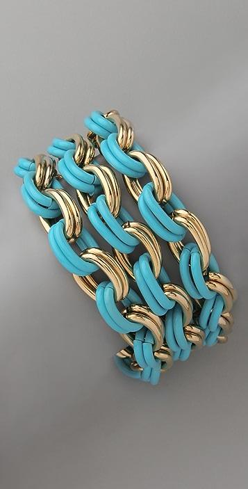 Lee Angel Jewelry Large Chain Bracelet