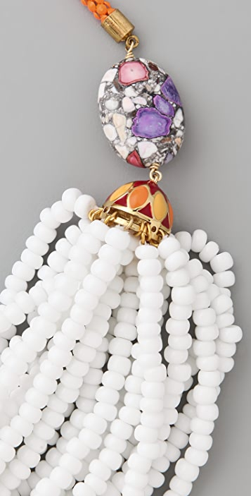 Lee Angel Jewelry Multi Strand Beaded Necklace