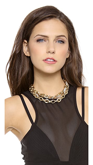 Lee Angel Jewelry Chain & Rondelle Necklace