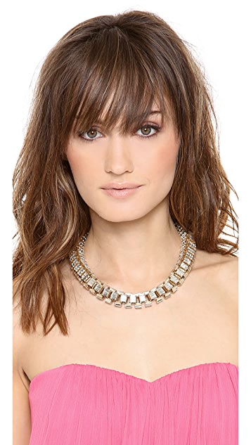 Lee Angel Jewelry Box Link Statement Necklace