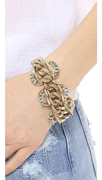 Lee Angel Jewelry Baguette Statement Bracelet