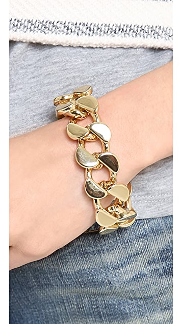 Lee Angel Jewelry Curb Chain Bracelet