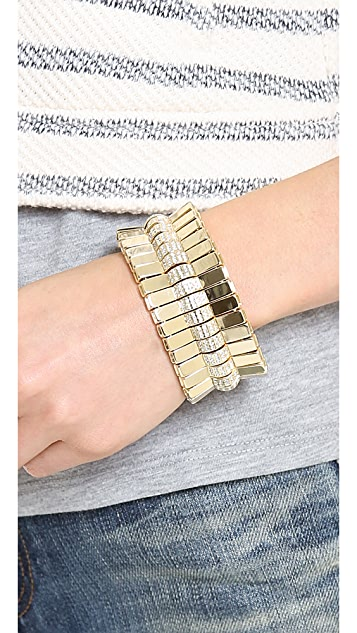 Lee Angel Jewelry Crystal Pave Bar Bracelet
