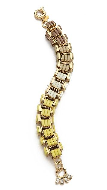 Lee Angel Jewelry Ombre Baguette Box Link Bracelet