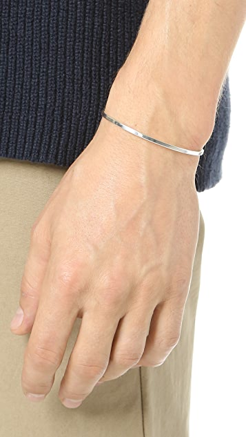 Le Gramme Le 7 Grammes Polished Silver Cuff