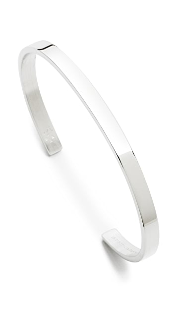 Le Gramme Le 15 Grammes Polished Silver Cuff