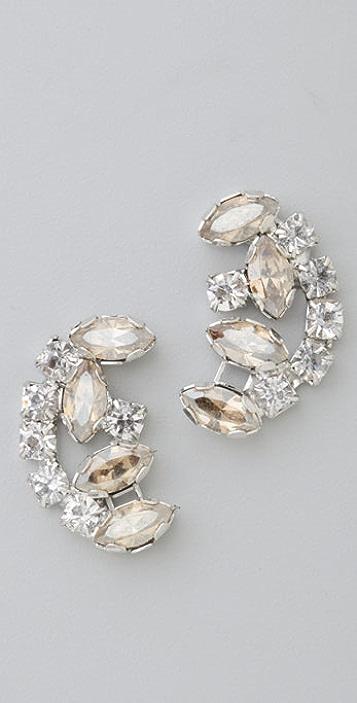 Rachel Leigh Jewelry Zelda Crystal Stud Earrings