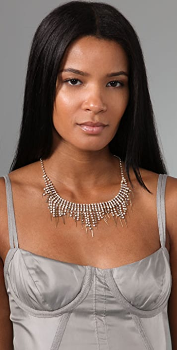 Rachel Leigh Jewelry Crystal Fringe Necklace