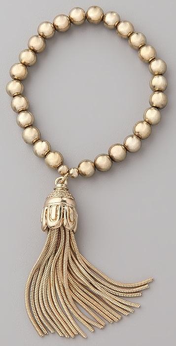 Rachel Leigh Jewelry Kruger Tassel Bracelet