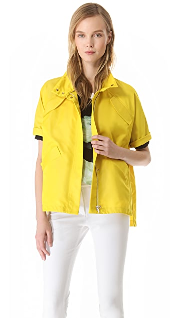 Lela Rose Short Sleeve Sport Jacket