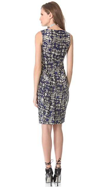 Lela Rose Sleeveless Sheath Dress