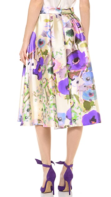 Lela Rose Tea Length Full Skirt