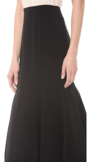 Lela Rose Fit & Flare Skirt