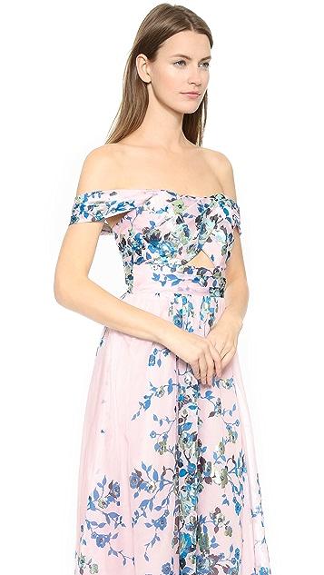 fada2c494d57 ... Lela Rose Floral Pleat Dress ...