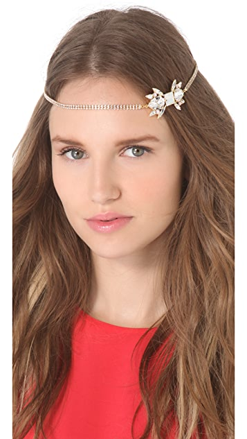 LELET NY Charlotte Swarovski Crystal Headband