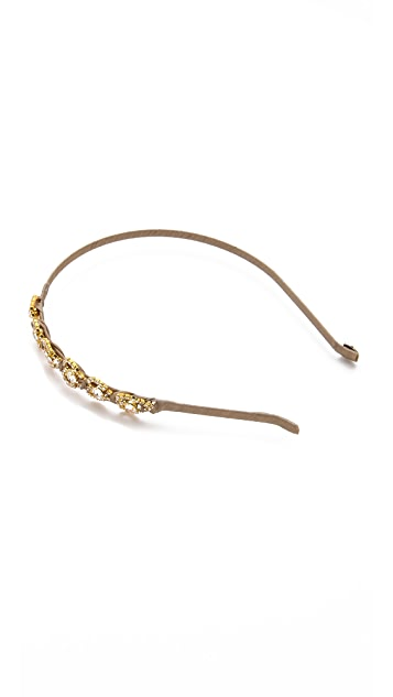 LELET NY Heartbreak Crystal Headband