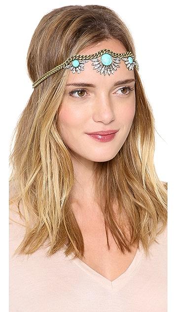 LELET NY Triple Galactic Crystal Headpiece