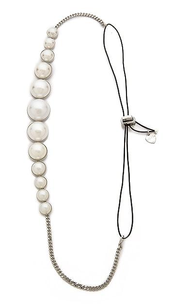 LELET NY Allison Imitation Pearl Headwrap