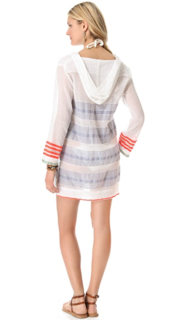 Lemlem Lala Hoodie Cover Up
