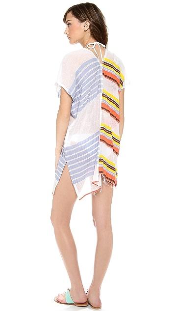 Lemlem Lilly Split Cover Up Dress