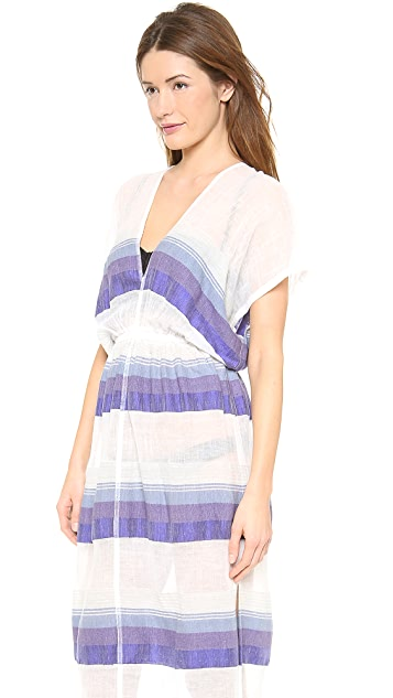 Lemlem Bezez Gauze Patio Dress