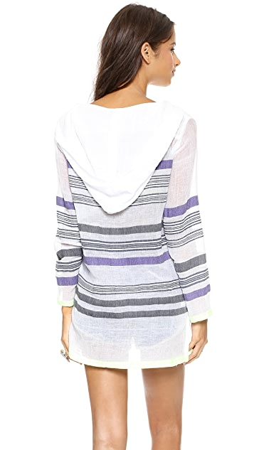 Lemlem Tara Gauze Hooded Tunic