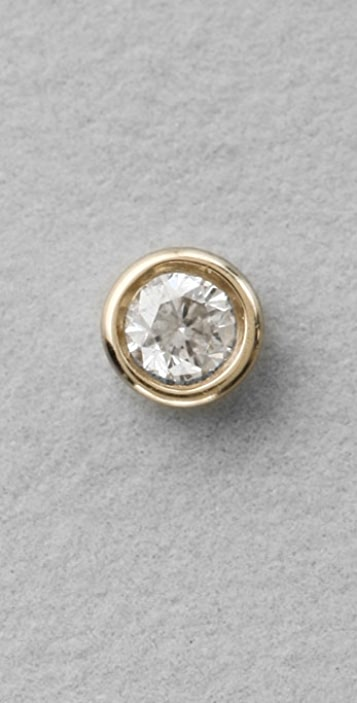 7a2d577b3 Lena Wald Bezel Diamond Stud Earrings   SHOPBOP