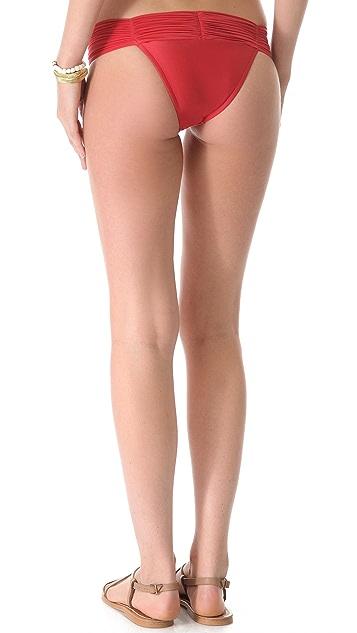 Lenny Niemeyer New Ruched European Bikini Bottoms