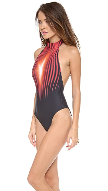 Lenny Niemeyer Red Light One Piece Swimsuit