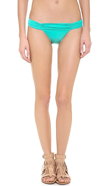 Lenny Niemeyer New Ruched Bottoms