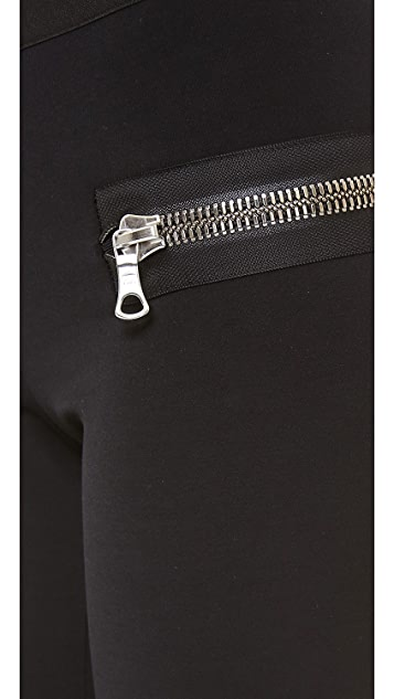 Les Chiffoniers Classic Zipper Leggings