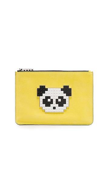 les petits joueurs Envelope Small Panda Pouch