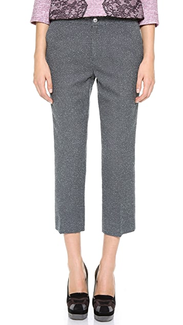 Leur Logette Wool Cropped Pants