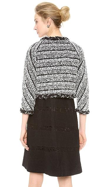 Leur Logette Tweed Short Jacket