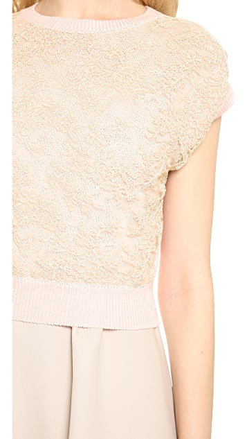 Leur Logette Powder Cotton Pullover