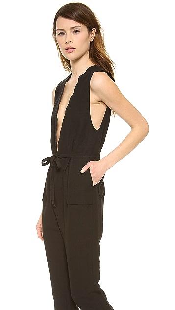 Leur Logette Vintage Linen Jumpsuit