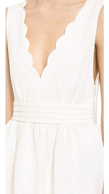 Leur Logette Vintage Linen Dress