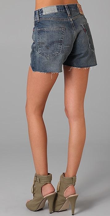 Levi's Cutoff Denim Shorts